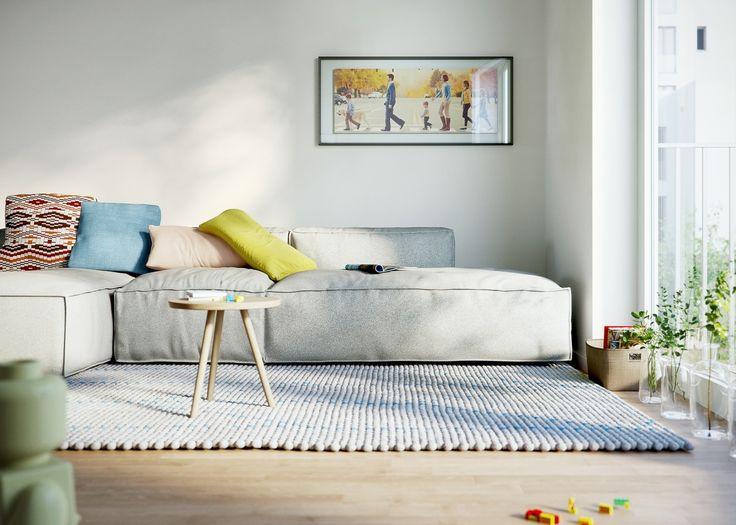 69 wohnzimmer couchlandschaft uncategorized couch for Couchlandschaft grau