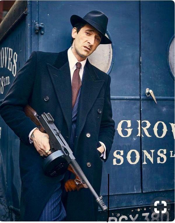 Adrien Brody As Luca Changretta In Peaky Blinders Peaky Blinders Posteres De Filmes Clube Da Luta