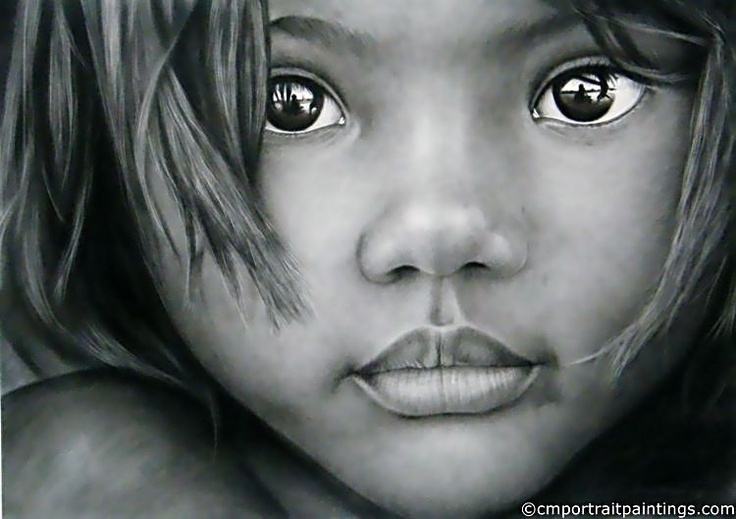 Indian girl...amazing pencil art- even the reflection in the eyes OMG....reminds me of 5 sets of eyes that I personally LOVE!!!!