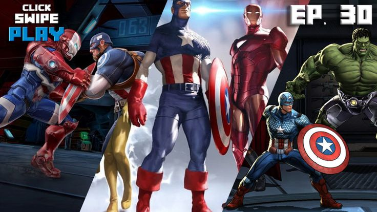 Three games to get you ready for Marvel's Captain America: Civil War.  en.softonic.com