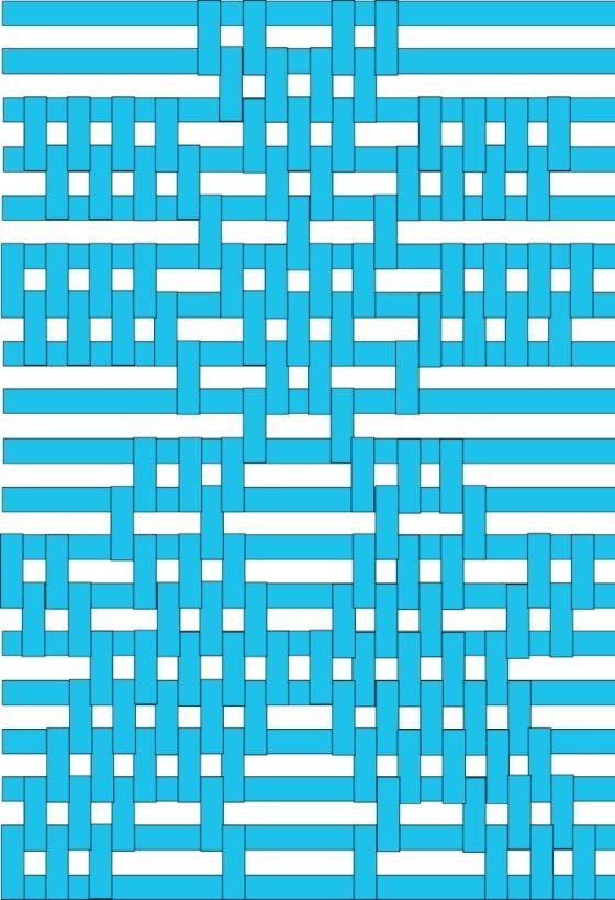 """La técnica de """"simple warp floats"""" es una de las técnicas de patrones más fáciles de ejecutar en tejidos de faz de urdimbre. Puede ser aplicada a piezas, ya sean grandes ó pequeñas… desde bandas pa…"""
