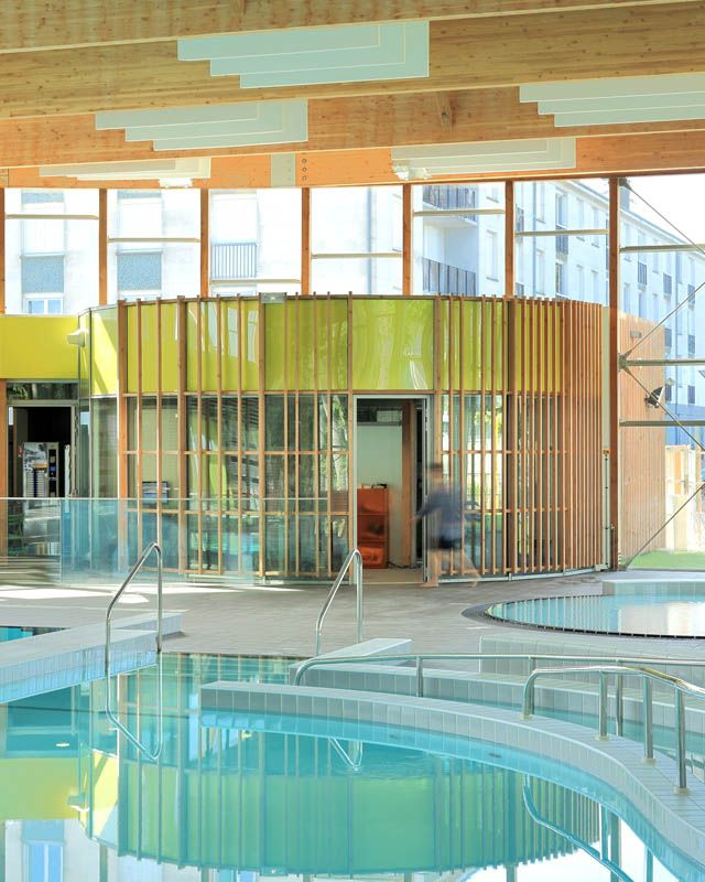 piscine du mortier tours nord abm architectes. Black Bedroom Furniture Sets. Home Design Ideas
