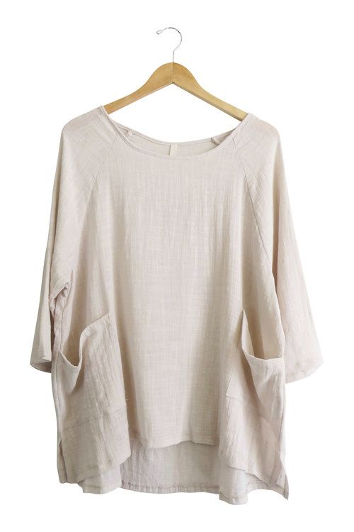 The Timeless Linen Blouse in Natural | ROOLEE                                                                                                                                                                                 More