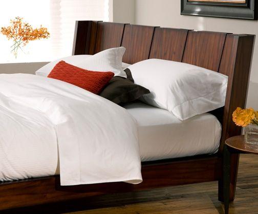 Barcelona Tiger Mahogany Platform Bed For The Home