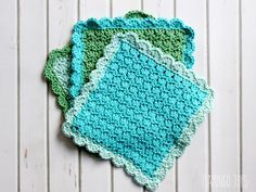 Easy Crochet Washcloths