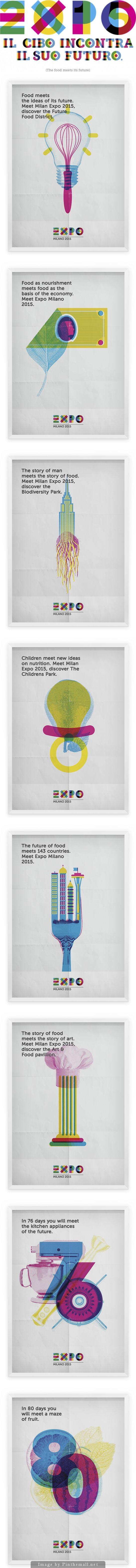 Expo Milano 2015 by Luca Frank Guarini, via Behance