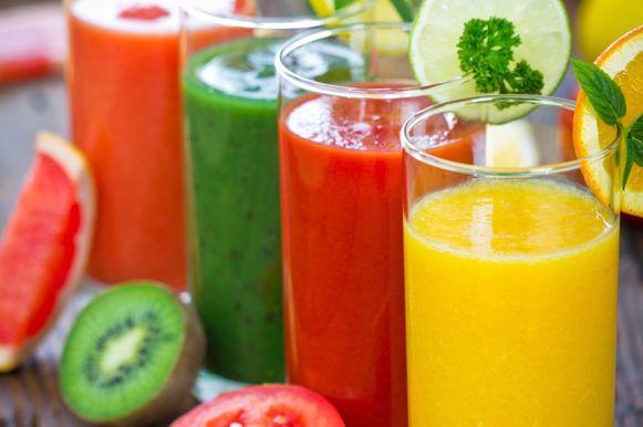 Sucos saudáveis para o verão