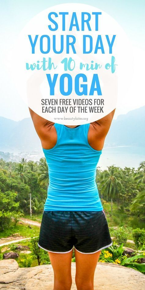 Seven at home 10-Minute Morning yoga workout videos to start your day in a positive way. If you find it hard to get out of bed, a daily 10-minute morning workout will definitely help you. Yoga for beginners • Weekly Workout Plan for Beginners • At Home Yoga Workouts