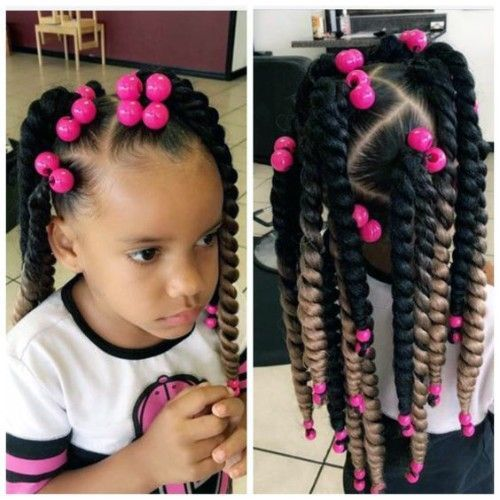 Top Braids with Beads Hairstyles for Adorable Toddlers | New Natural Hairstyles
