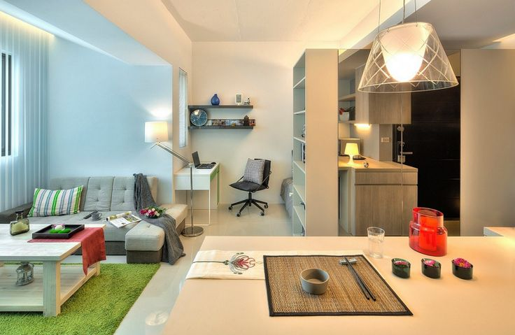 Single Man's Flat in Taipei, Taiwan