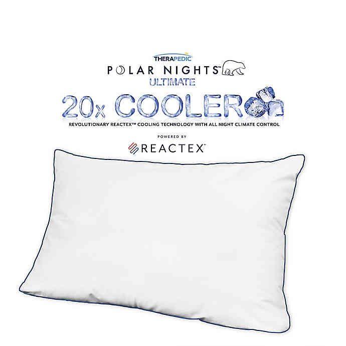 Therapedic Polar Nights 20x Cooling Down Alternative Pillow In