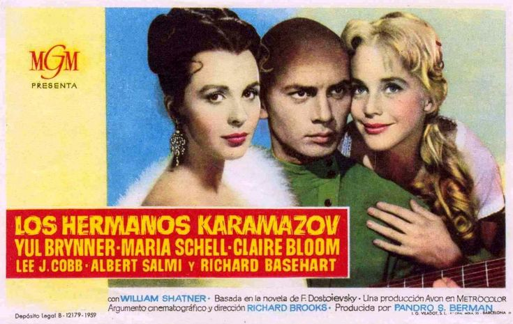 "Los hermanos Karamazov (1958) ""The Brothers Karamazov"" de Richard Brooks - tt0051435"