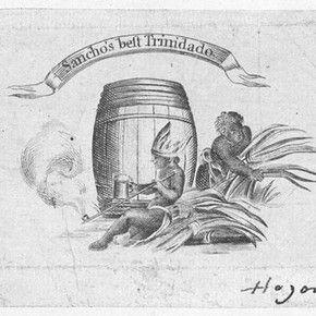 Tradecard of Ignatius Sancho, 1772-1780, Ignatius Sancho