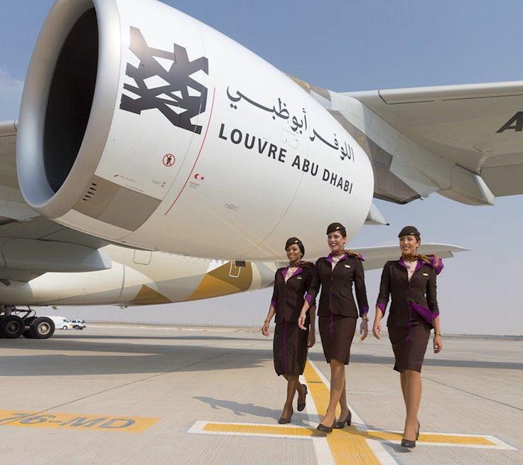 Hôtesses de l'air Etihad Airways (novembre 2017)