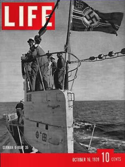 German U-Boat, 1939
