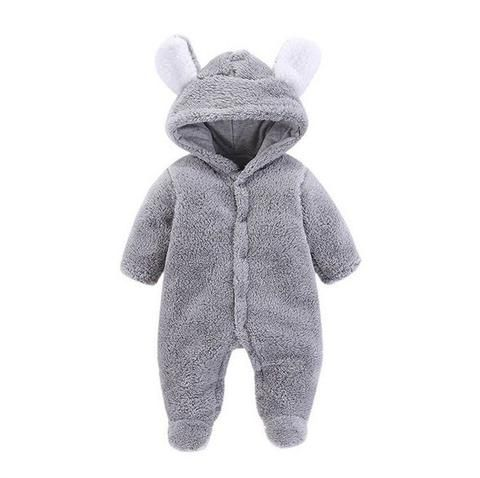 aae1972aabe1 2018 New Born Baby Clothes Baby Clothing Baby Boy Rompers Fleece ...