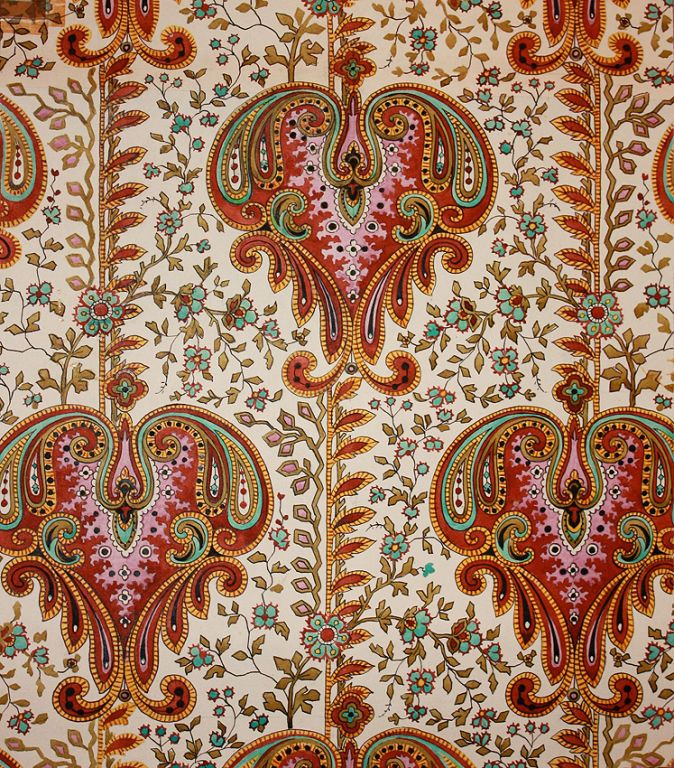 Fabric Designs from 1870-1970