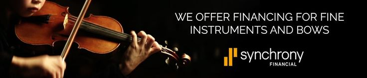 We offer financing to help make in-store purchases of new or fine instruments affordable.