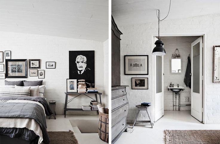 17 beste idee n over witte kamers op pinterest home deco ivoren slaapkamer en foto muren - Moderne witte kamer ...