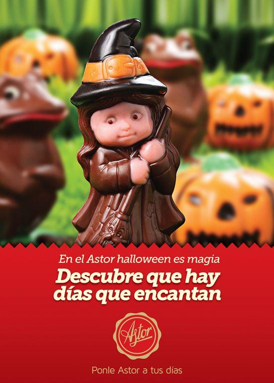En la #reposteriaastor halloween es magia... Descubre que hay días que encantan...  Ponle Astor a tus días  www.elastor.com.co