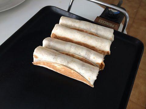 Burritos de carne picada - YouTube