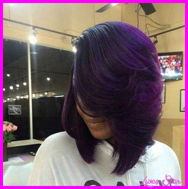 awesome Layered bob haircuts for black women