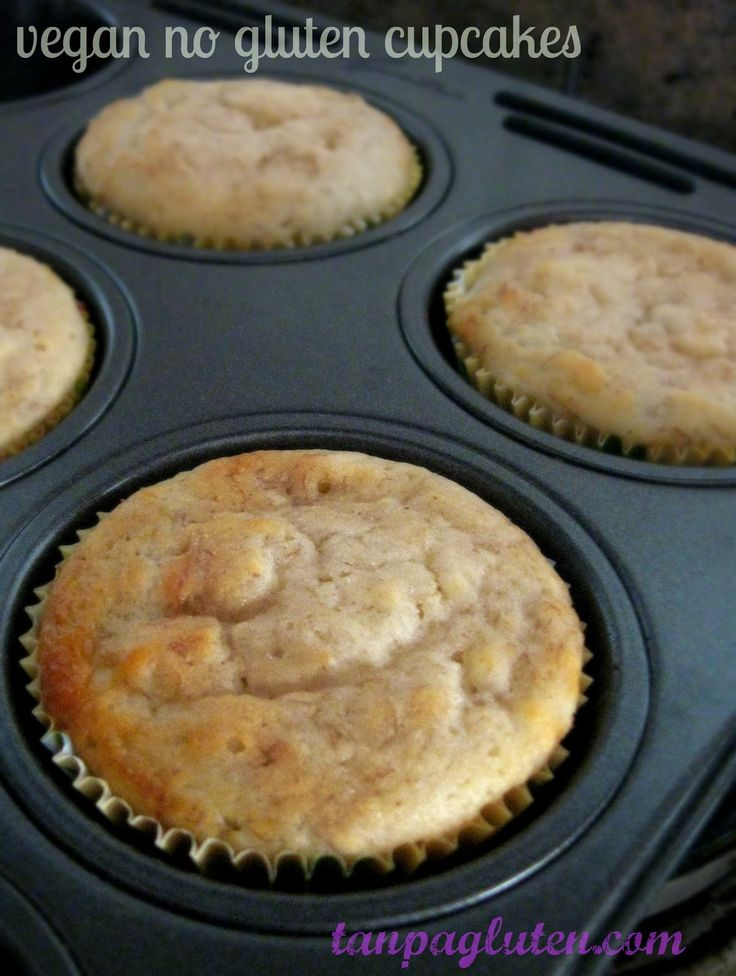 resep bebas gluten: cupcake tanpa telur