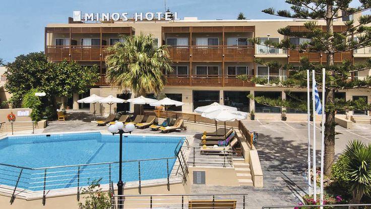 £403 - Hotel Minos, Rethymnon Crete