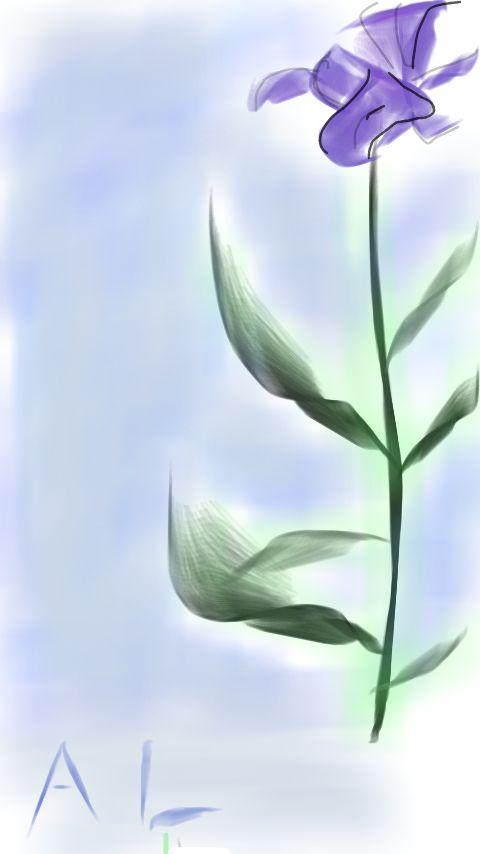 Flor d'Gis Allan Lucena #Arte #Digital