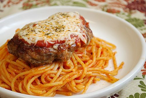 italian meatloaf parmigiana, love meatloaf and italian food...perfect!