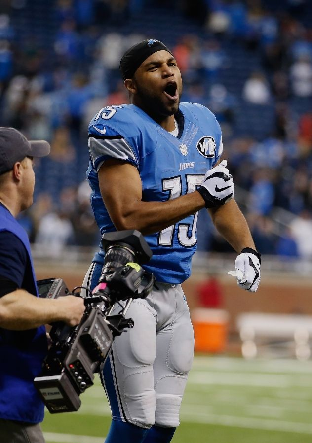 Golden Tate 10192014 The Lions Den Detroit Lions Detroit Lions Players Detroit