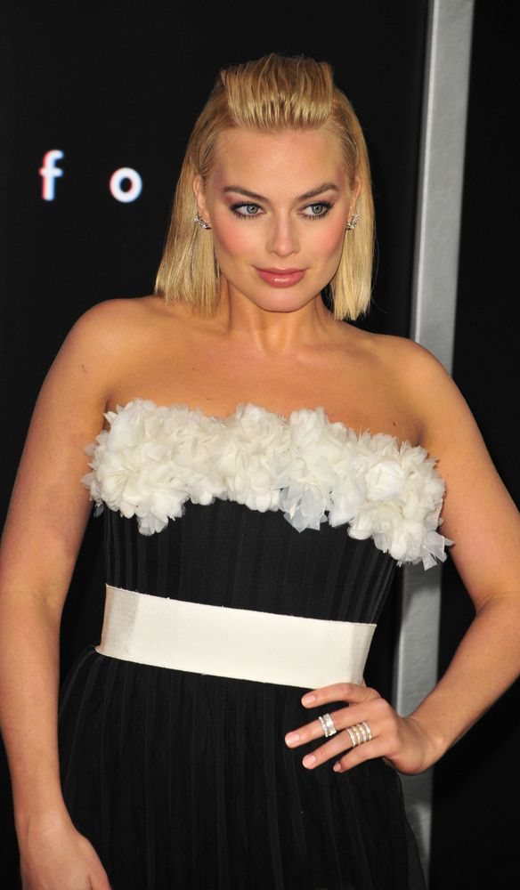 Hairstyle Of The Month: Margot Robbie's Sleek Strands