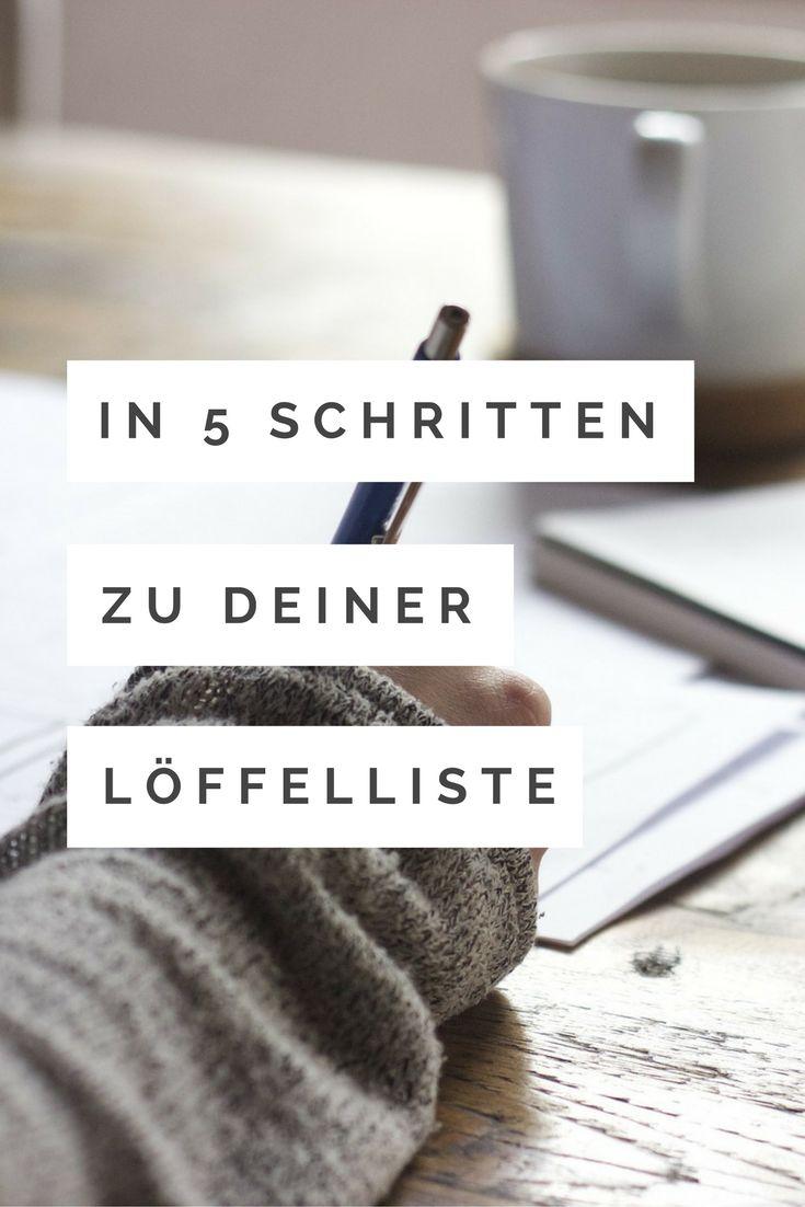 SCHREIB DEINE LÖFFELLISTE  Ziele erreichen leichter gemacht     Löffelliste, Bucketlist, ToDoListe, Wunschliste: Nenn es wie Du willst! Schreibe Deine Ziele, Wünsche, Träume auf, damit sie wahr werden können! Nenne sie nicht mehr Träume, sondern mache einen Plan daraus!  👍🏻  http://www.wemheuer.de/loeffelliste/ #löffelliste #bucketlist  #löffelliste #bucketlist #todoliste