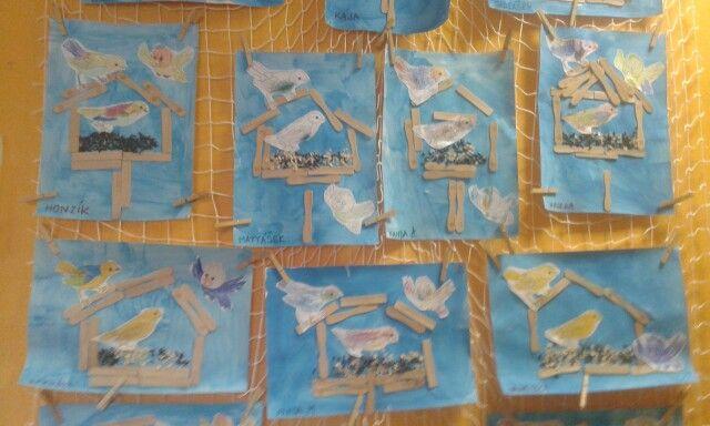 Krmítka pro ptáčky- ispirace zde
