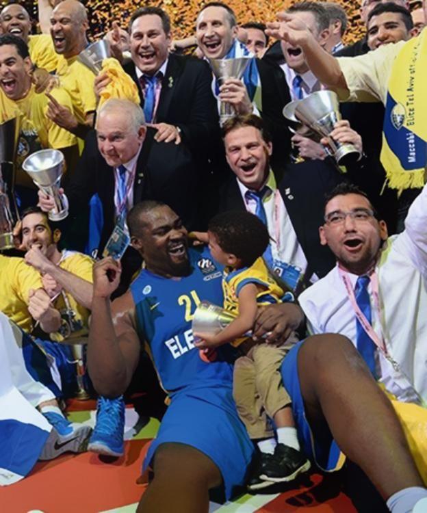 Ο Σχορτσανίτης στην κορυφή της Ευρώπης! #Euroleague #maccabitelaviv