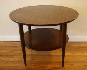 Small Round Side Table Plans