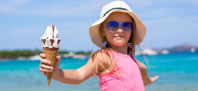 Recetas de helados para niños
