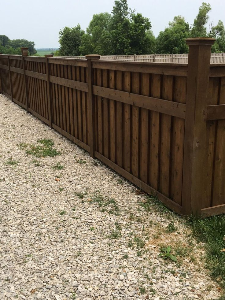 This beautiful cedar shadow box fence was built by Heldt Construction with Cedar Deck Boards from our Princeton store. They really added interesting curb appeal to this property with such a unique fencing solution.