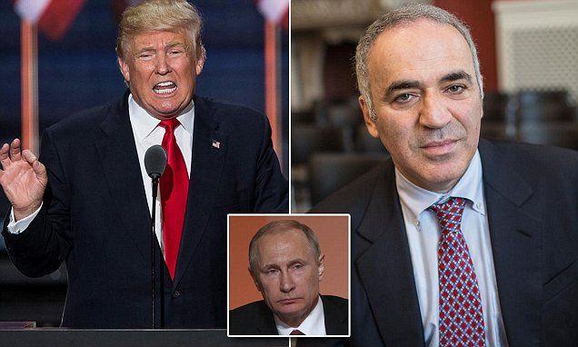 Human Rights Foundation's Garry Kasparov compares Donald Trump to Vladimir Putin | Daily Mail Online