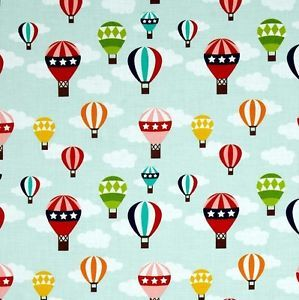Blue Sky & Balloons, reminds us of summer. Lazy Days from Riley Blake
