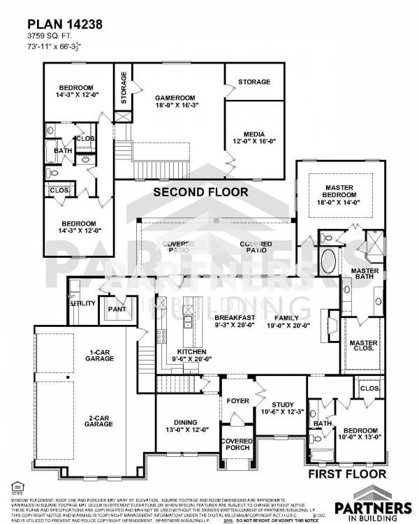 25 best partners in building images on pinterest house floor plans plan 14238 is a 3759 sqe ft 4 bedroom plan built and designed by partners in building custom home builder in texas malvernweather Gallery