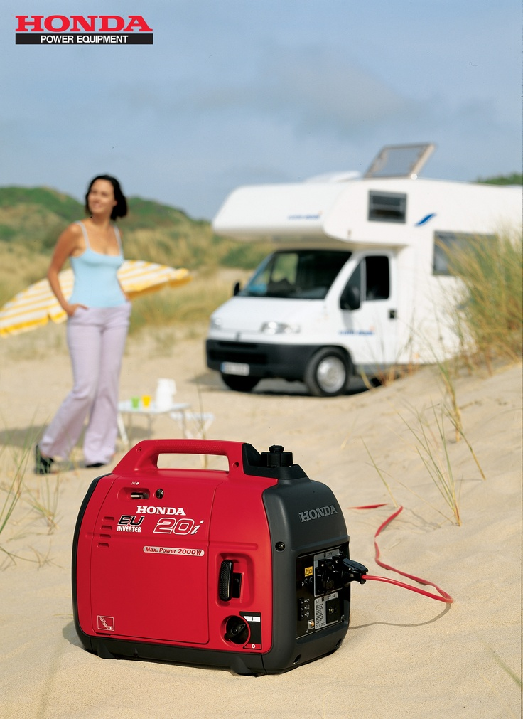 Setting a new standard in portable electricity the EU20i uses Honda's advanced four-stroke GX100 engine for a maximum power output of 2,000 watts AC, and rated output of 1,600 watts, making it ideal for a wide variety of domestic and leisure applications. For more information visit http://powerequipment.honda.com.au/Super_Quiet/EU20i