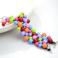 Braccialetti di perline fatti a mano su prezzi accessibili materiali per la fabbricazione di gioielli