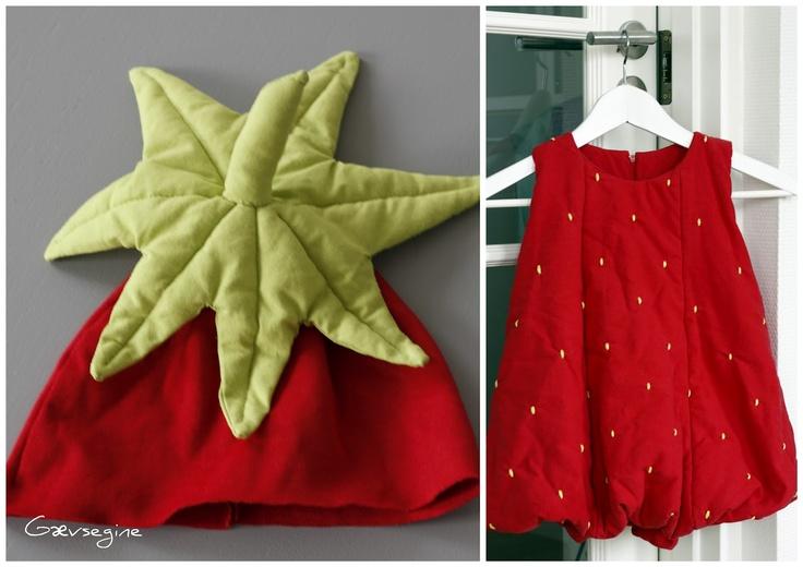Jordbær kostume