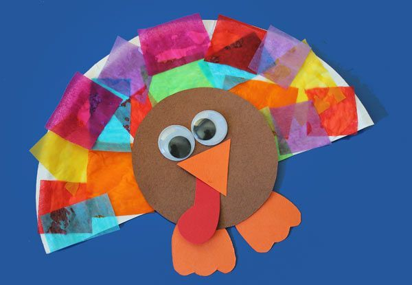 thanksgiving crafts for toddlers and twos | Turkey Crafts Kids Can Make