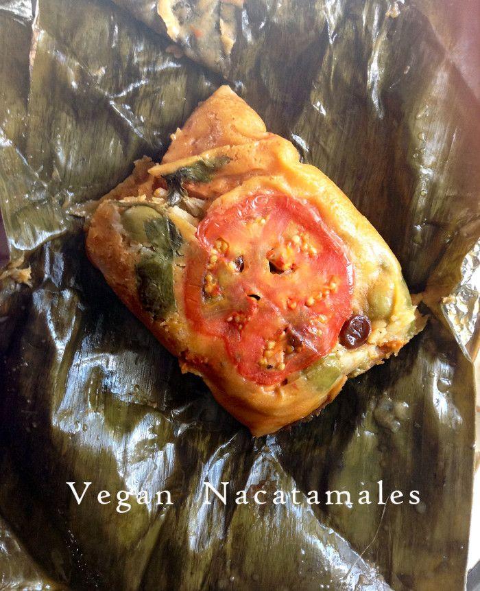 Vegan Nacatamales (Nicaraguan dish)