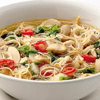 Recept - Thaise soep met kip en miehoen - Allerhande