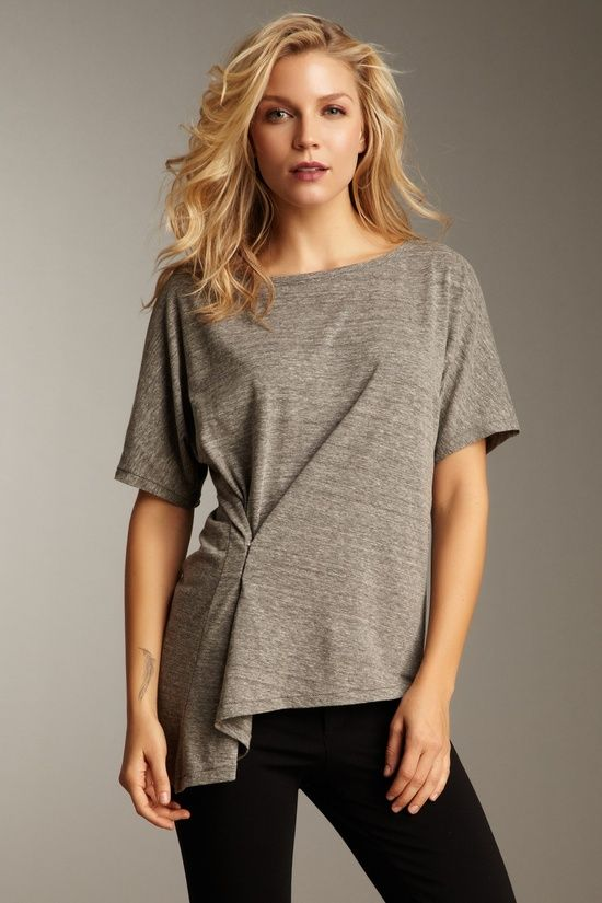 pinched- could possibly do this with a large t-shirt - DIY