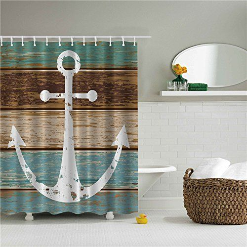 Nautical And Beach Themed Shower Curtains