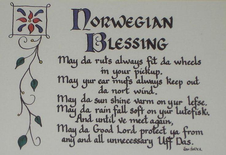 Norwegian Blessing